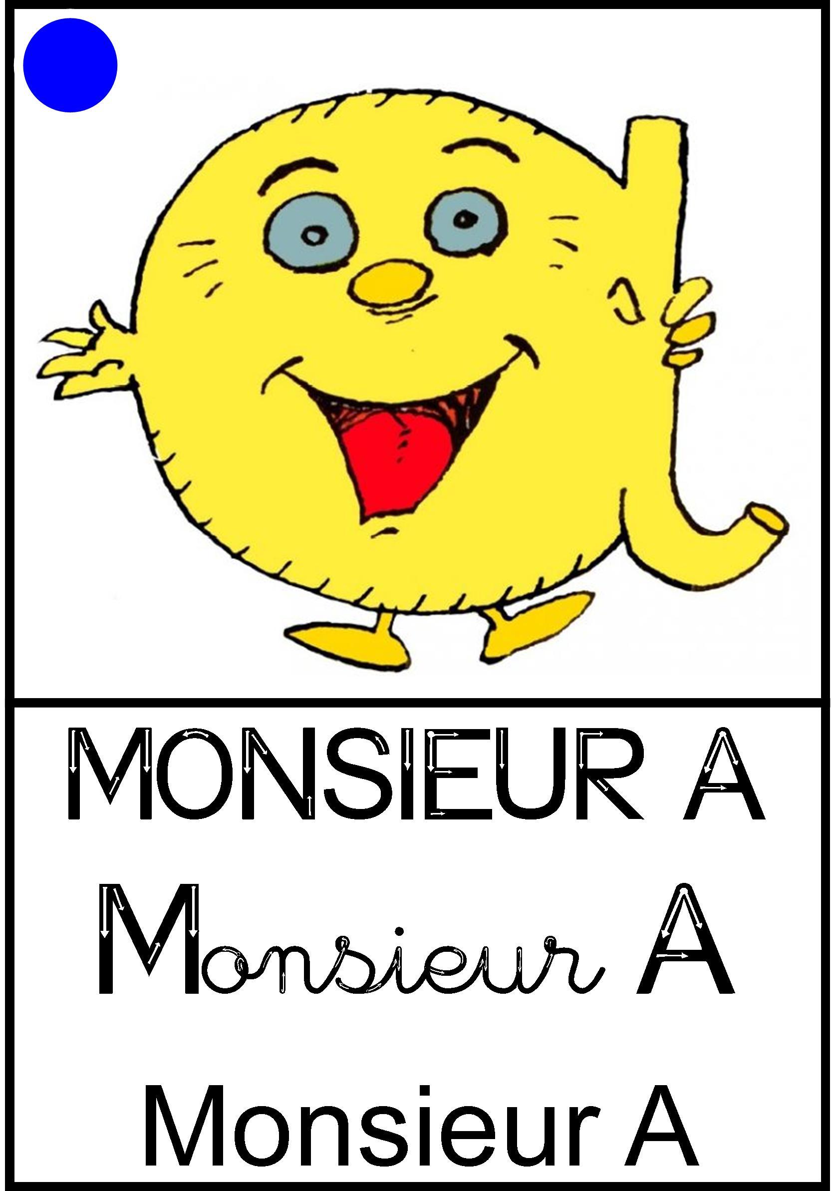 Affichage Monsieur A