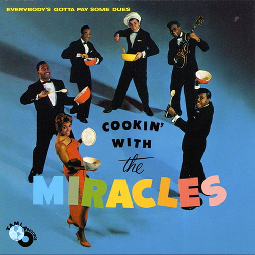 "The Miracles : Album "" Cookin' With The Miracles "" Tamla Records TM 223 [ US ]"