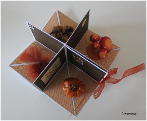 Scrap / Un mini aux couleurs de l'automne