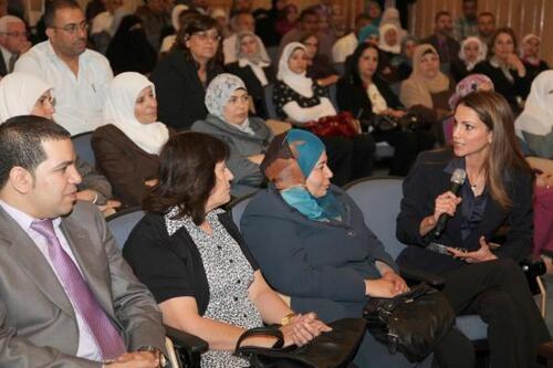 Rania et les enseignants