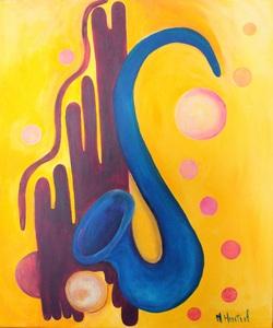 L'école de musique sous le signe de la peinture