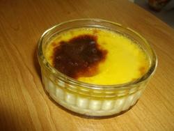 Crème aux oeufs, ou crème caramel, ou oeufs au lait