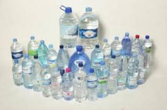 Verschmutzung in Flaschen
