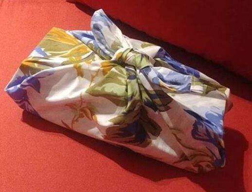 Des furoshikis pour emballer les cadeaux