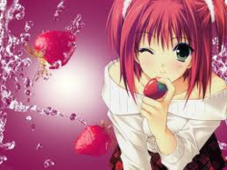 Moi aussi j'aime les fraise !!