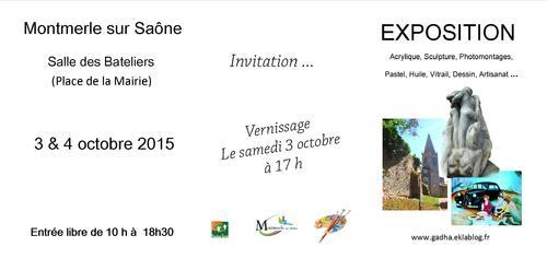 Carole Fauvette:   Une Montmerloise exposera ce week-end avec le GADHA !