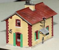 La maison de PN côté caché