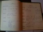 Livres d'écoles anciens - Sciences, anglais, chant...