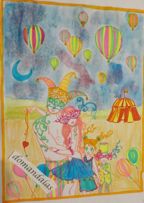 DOMANDALAS famille cirque album Mystical Molly Harrison