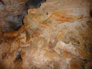 BAUME ST MICHEL - la fresque (6)