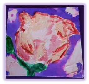 Une rose pour maman, les étapes