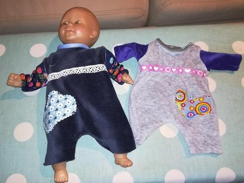 Mini habits pour la poupée de Shanti