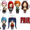 Fairy Tail chibis