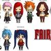 Fairy Tail chibis