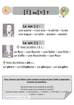 Leçons orthographe