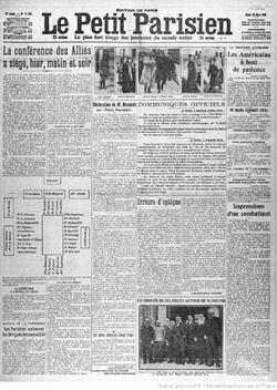 Unes de Presse 1916