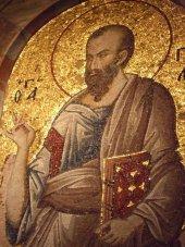 Saint Paul, mosaïque de l'église Saint Sauveur in Chora