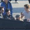 Eclipse : Rob Pattinso, Kristen Stewart et Billy on the set