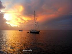 Tobago- Mouillage Store Bay