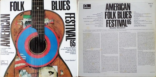 AMERICAN FOLK BLUES FESTIVAL 65 - FONTANA 681.529 TL - France