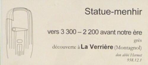 statue-menhir de La Verrière Rodez 2