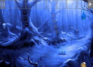 Jouer à Haunted forest Halloween escape