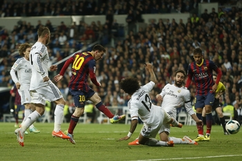 Messi égalise avant la pause