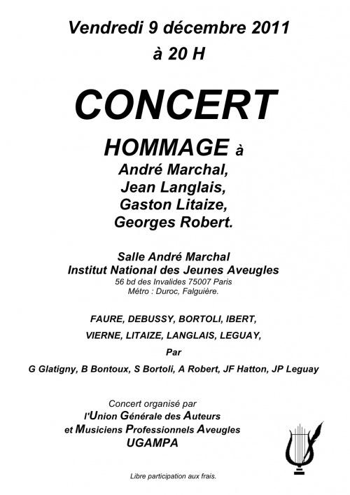 Affiches de concerts
