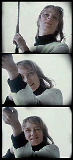 Niki de Saint Phalle et ses motocyclettes