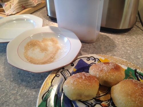 Recette de beignets sans friture.