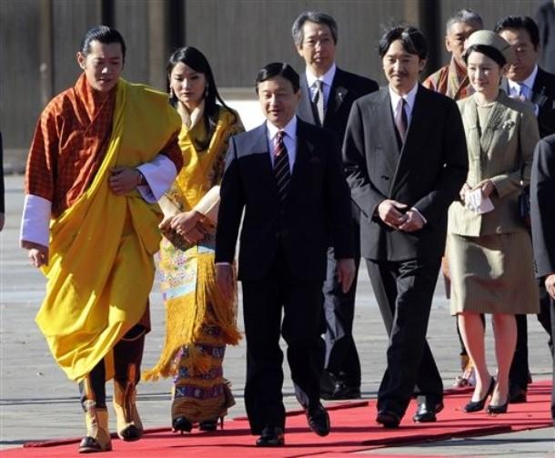Les bhoutanais au Japon