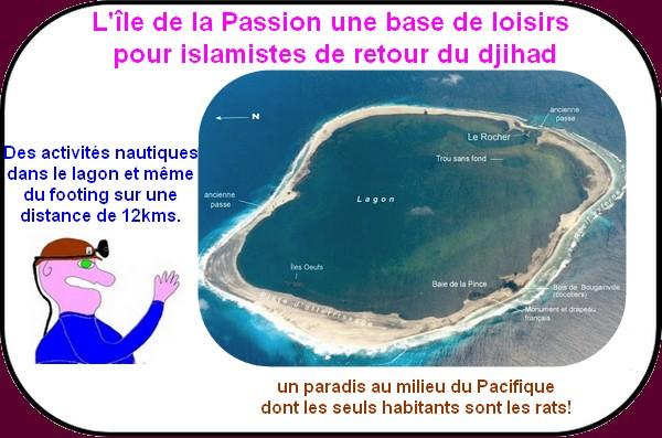 L'île de la passion une base de loisirs pour islamistes 06