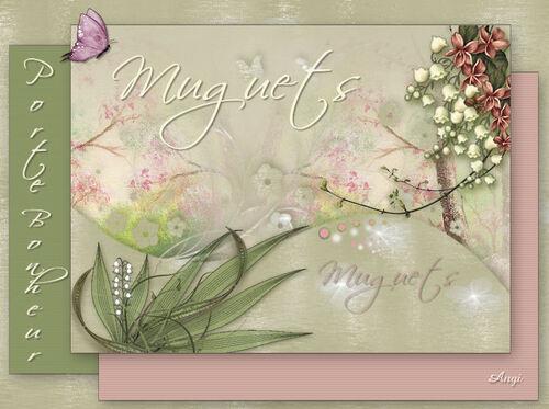 1er Mai / Muguets  Porte-Bonheur