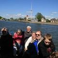 En bateau de Honfleur au pont de Normanadie
