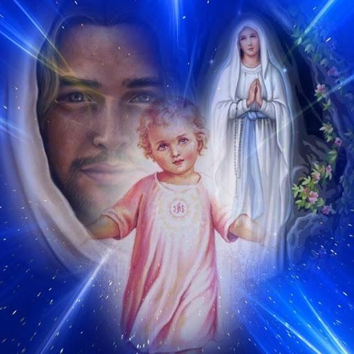 photos de vierge marie et de jesus