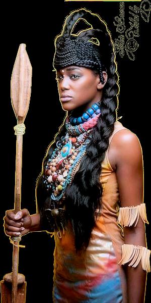 Tubes femmes création africaine 10
