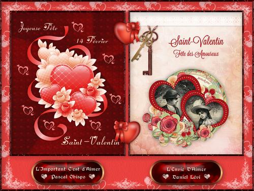 Carte Musicale pour Saint-Valentin