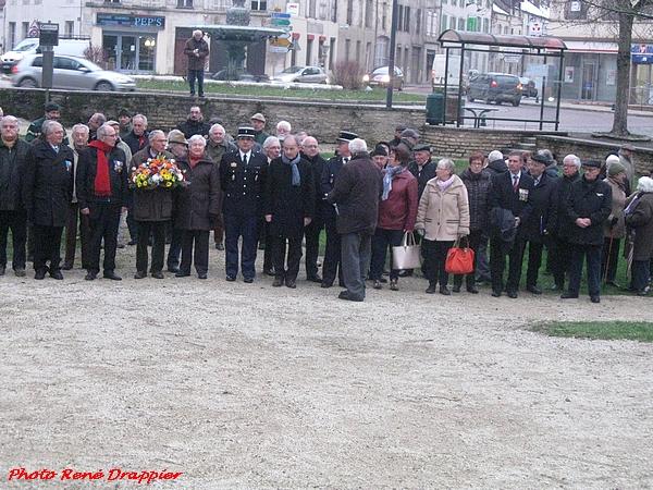 Commémoration du 19 mars , anniversaire de la fin de la guerre d'Algérie