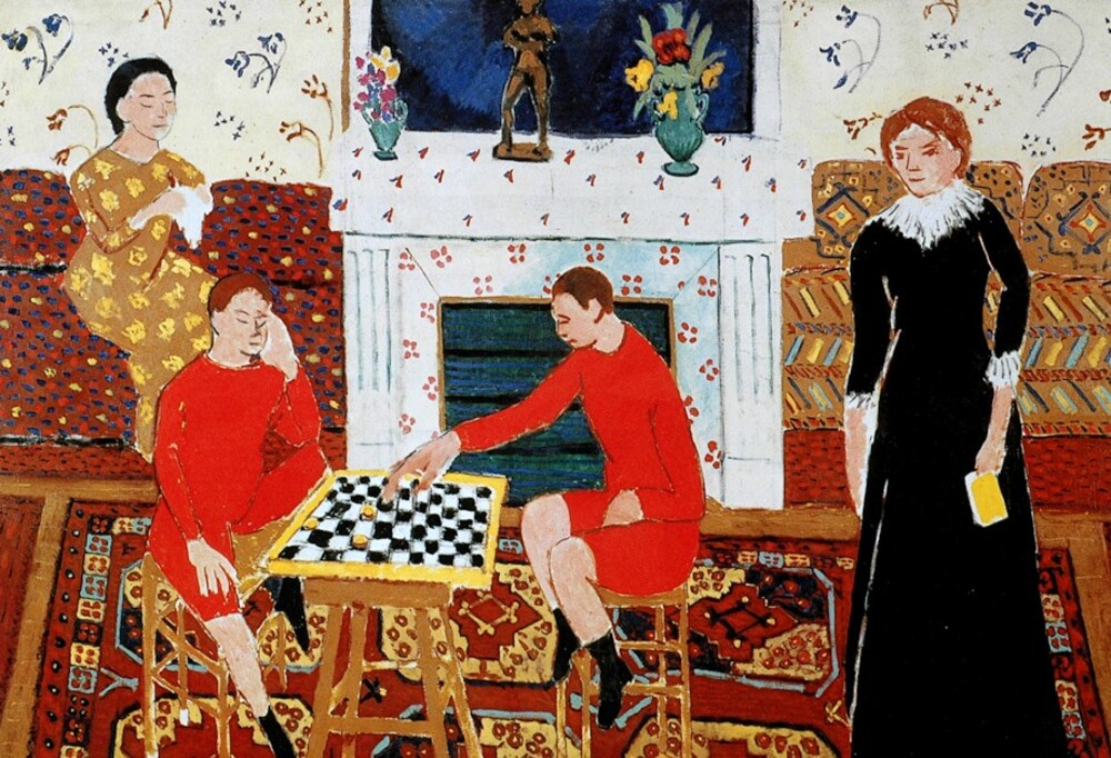 Matisse 14 /  1905- Madame Matisse