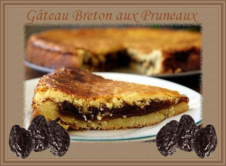 Gateaux aux pruneaux breton