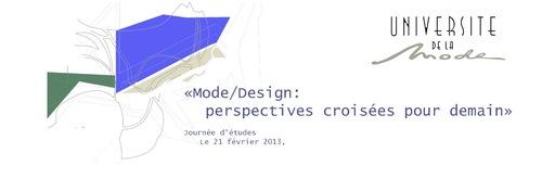Le design et la mode se rencontrent à l'Université