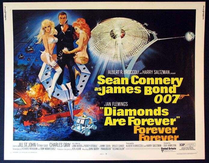 DIAMONDS ARE FOREVER BOX OFFICE 1971