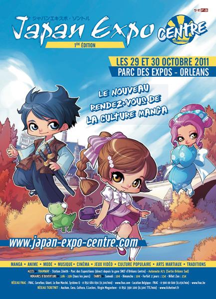 1ère Japan Expo Centre à Orléans