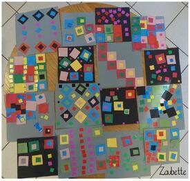les carrés de Zaubette - AV et formes