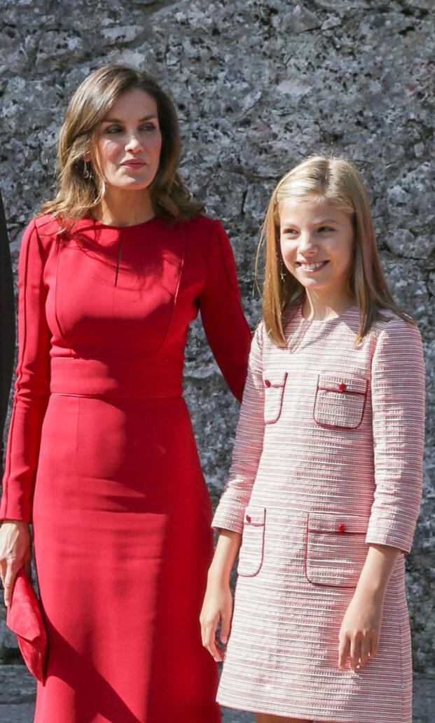 8 septembre : la famille royale d'Espagne
