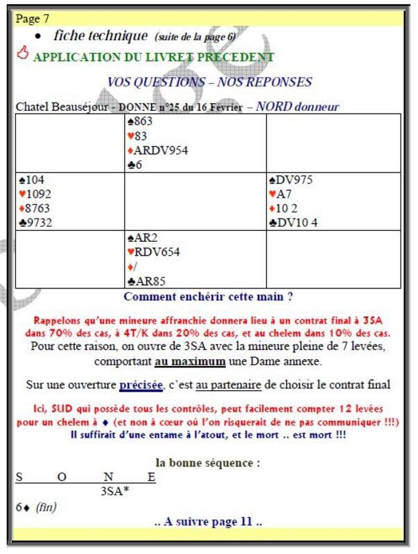 Fiches Techniques du Tournoi des Arbitres du 27/03/2015