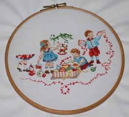 Broderie de Noël