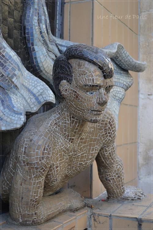 Montmartre : L'homme à sa fenêtre de Philippe Rebuffet