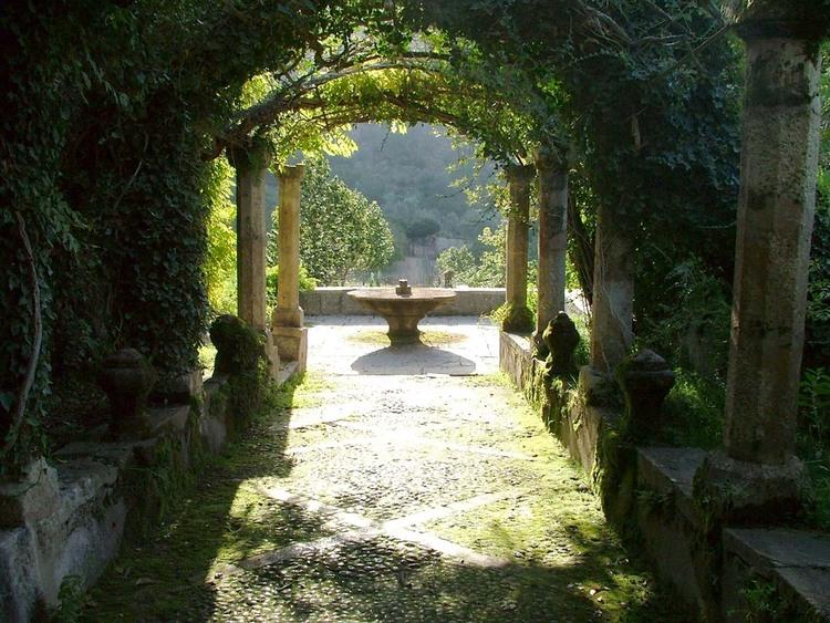 majorque - Bunyola - les jardins d'Alfeiba