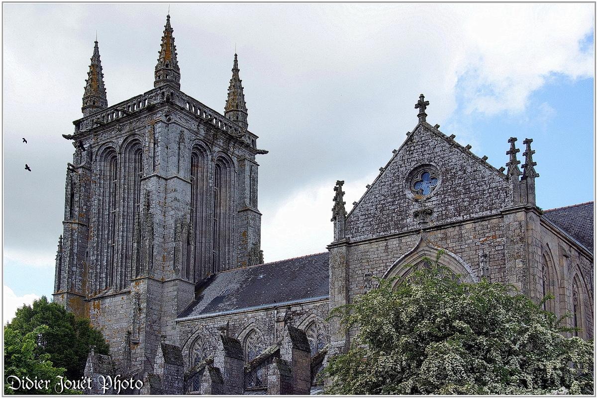 (29) Finistère - Carhaix-Plouguer (3) - Eglise Saint Tremeur